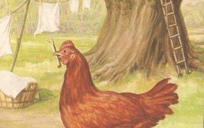 La Petite Poule et le Renard rusé