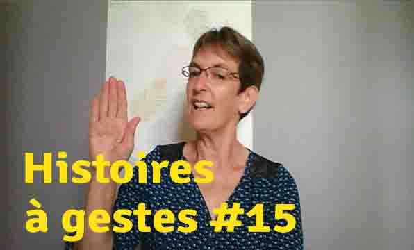 Histoires à gestes15. Grand-Mère Sucre et Grand-Père Chocolat